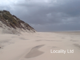 Ainsdale Sand Dunes national nature reserve sand dunes Merseyside Photo Shoot Filming Location